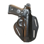 HOLSTER - Pancake -  LEATHER 3-SLOT