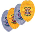 Heros Pride Police Officer Patch
